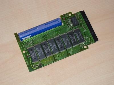 geöffnete BEDAS-Cartridge