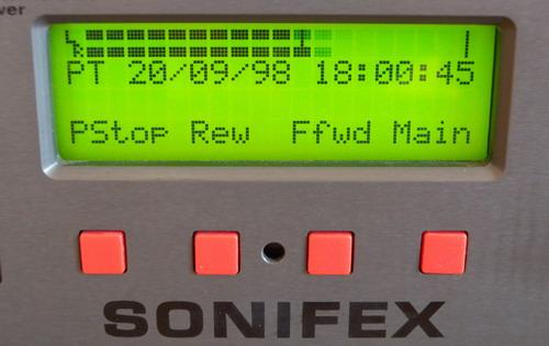Sonifex Sentinel+ Display