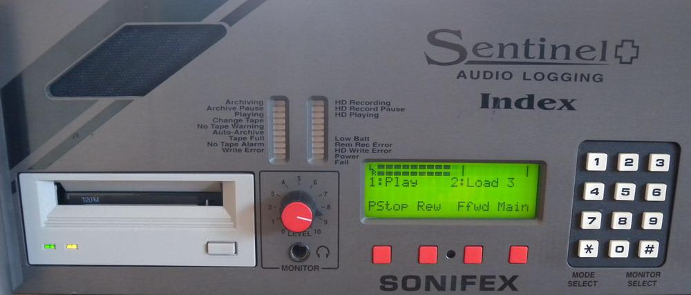 Sonifex Sentinel+ Frontansicht