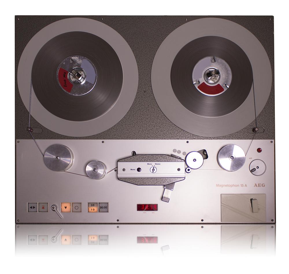 AEG Telefunken Magnetophon 15 A (M15A)