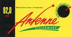 Aufkleber von Antenne Steiermark