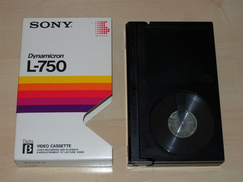 Betamax-Kassette