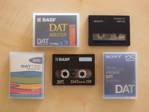 DAT-Kassetten