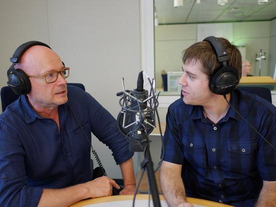 Gespräch Jürgen Kolb (Foto: Matthias Woehl)