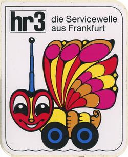 hr3 Aufkleber