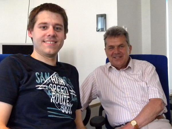Andreas Knedlik und Michael Schneider