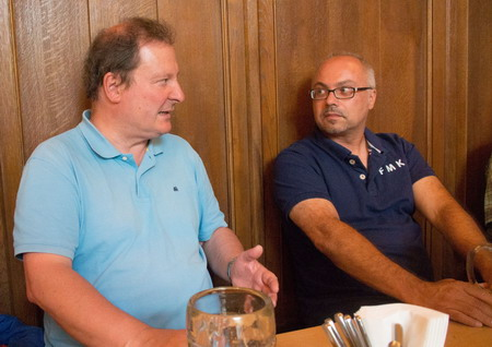 Peter Bertelshofer und Thomas Kircher im Gespräch
