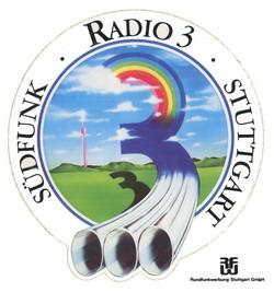 Radio 3 Südfunk Stuttgart Aaufkleber