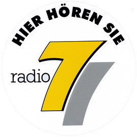 Radio 7 Aufkleber