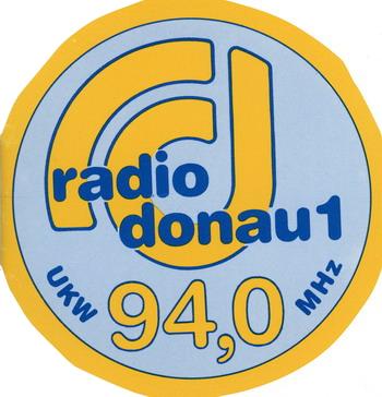 Radio Donau 1 Aufkleber