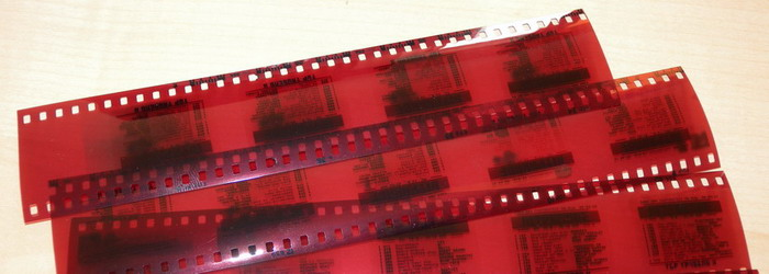 SDR 3 Top Tausend X Südfunktext Filmnegative