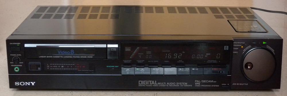 Sony EV-S850PS