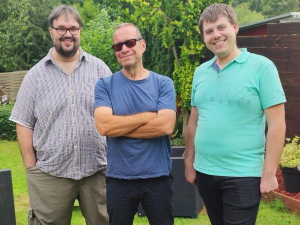 Christian Milling, Stephan Kaiser und Andreas Knedlik