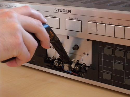 Studer A721 Entmagnetisierung